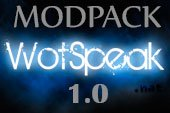 Сборка модов Wotspeak - модпак Вотспик для World of tanks 1.0.0.3 WOT
