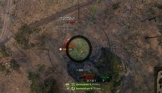 Арт (артиллерийский) прицел Taipan для World of Tanks 1.10.0.2 WOT