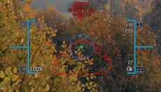 Прицел Мьельнир Молот Тора - KT Crosshair Mjolnir для World of tanks 1.11.0.0 WOT