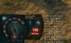 Дамаг панель Bionick - красивая панель повреждений Бионик 1.5.0.4 WOT (6 вариантов)