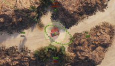 Минималистичный прицел Dellux для World of tanks 1.5.0.4 WOT