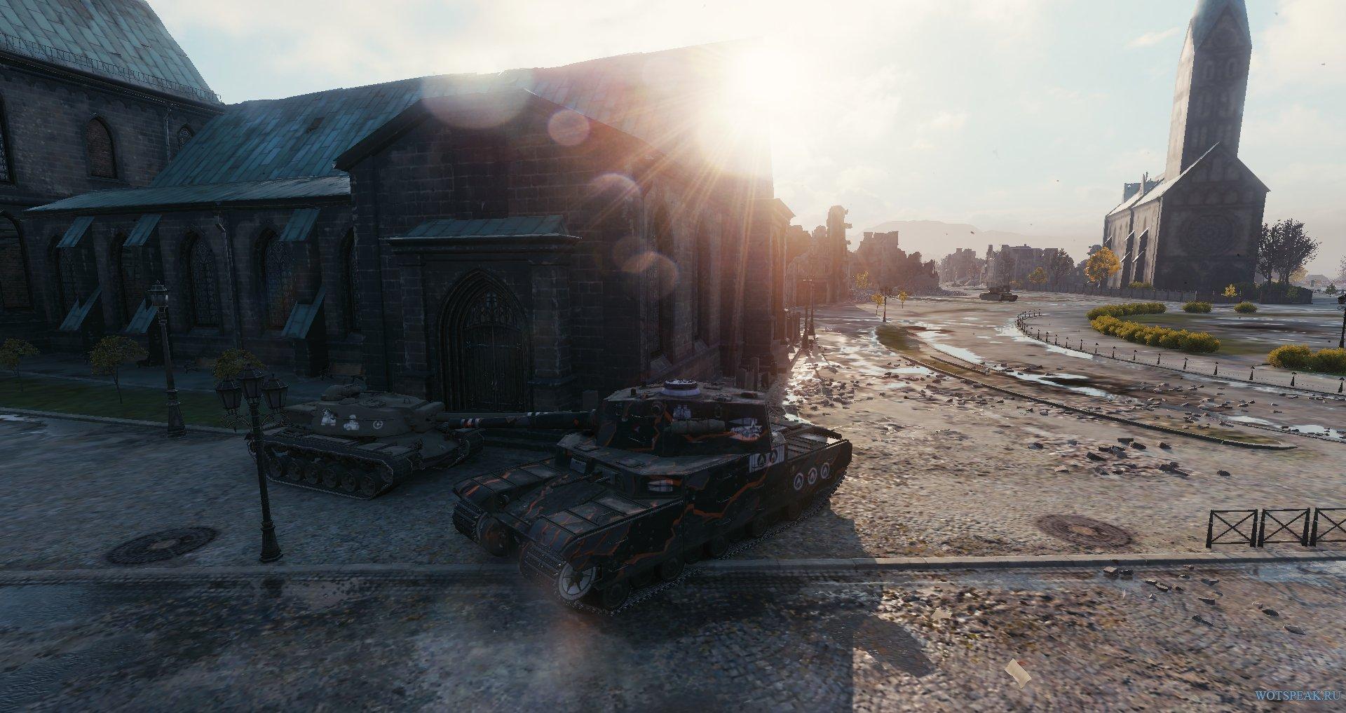 Шкурки с критическими попаданиями на world of tanks