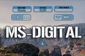 Красивый прицел MS-digital для World of tanks 1.6.0.1 WOT