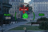 Удобный прицел Fatality с ускоренным сведением для World of tanks 1.6.1.3 WOT