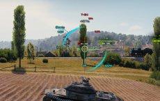 Адаптированный прицел Kellerman для World of tanks 1.3.0.1 WOT