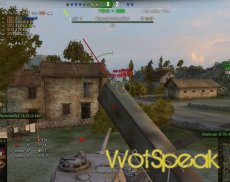 Дамаг индикатор Hawg's Needle V2 для World of tanks 1.12.0.0 WOT