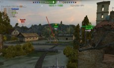 Дамаг индикатор Hawg's Needle V2 для World of tanks 1.4.0.1 WOT
