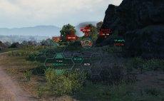 Прицел и боевой интерфейс CRYSIS для World of tanks 1.14.0.2 WOT