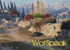 Маркеры противников в прямой видимости для прострела World of tanks 1.6.1.4 WOT