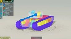 Armor Inspector - схема бронирование и коллижн модели танков в 3d для World of tanks 1.7.0.2 WOT