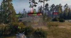 Мод BVM отлетающий урон без XVM для World of Tanks 1.10.1.1 WOT