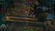 Боевой интерфейс и озвучка Ведьмак для World of tanks 1.10.0.0 WOT