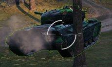 Белый прицел от Корзиныча для World of tanks 1.10.1.4