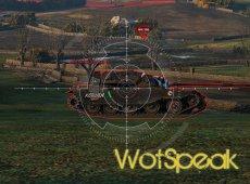 Удобный прицел Калибр для World of Tanks 1.12.1.1