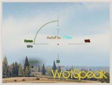 Фиксатор прицела для World of tanks 1.11.1.3 WOT