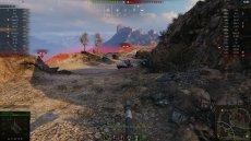 Точный прицел Бирюза для World of tanks 1.11.0.0 WOT (RUS+ENG версии)