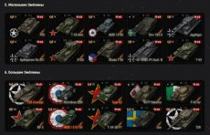 Флаги наций танков в каруселе для World of Tanks 1.12.0.0 WOT (много вариантов)